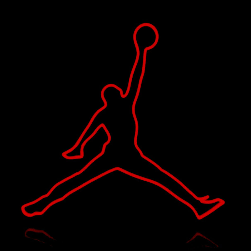 Jordan Basketball Neon Sign