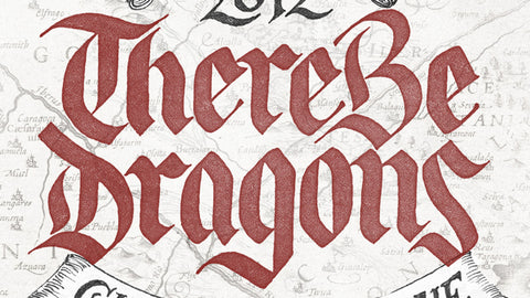 There Be Dragons Brewery Logo