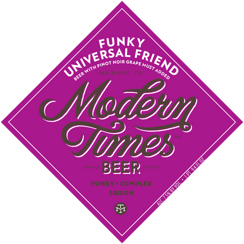 MODERN TIMES Funky Universal Friend Pinot Noir - The Cult Beer Store from Hashigo Zake