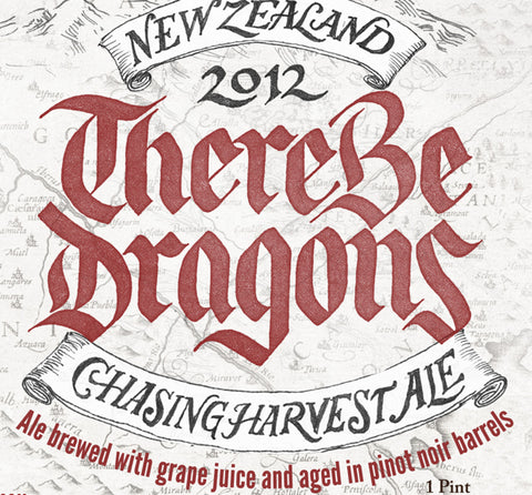CHASING HARVEST There Be Dragons 2012 - The Cult Beer Store from Hashigo Zake