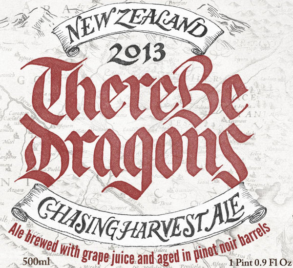 CHASING HARVEST There Be Dragons 2013 - The Cult Beer Store from Hashigo Zake