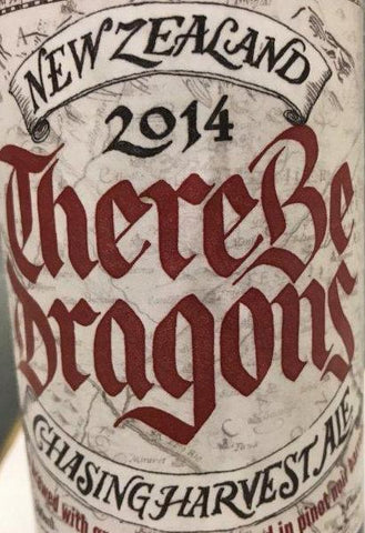 CHASING HARVEST There Be Dragons 2014 - The Cult Beer Store from Hashigo Zake