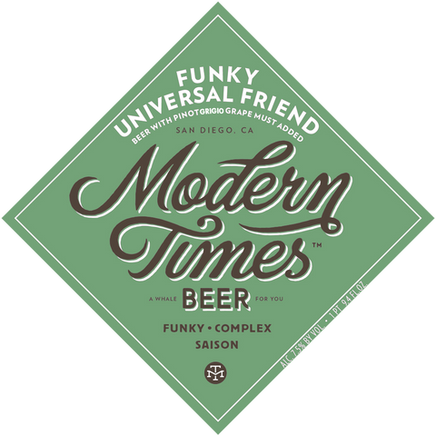 MODERN TIMES Funky Universal Friend Pinot Grigio - The Cult Beer Store from Hashigo Zake
