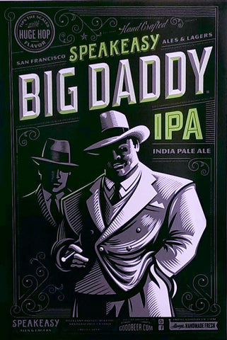 Speakeasy Big Daddy Poster - The Cult Beer Store from Hashigo Zake
