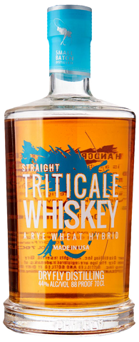 Dry Fly Straight Triticale Whiskey (Rye Wheat Hybrid) - The Cult Beer Store from Hashigo Zake