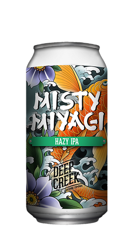 DEEP CREEK Misty Miyagi Hazy IPA - The Cult Beer Store from Hashigo Zake