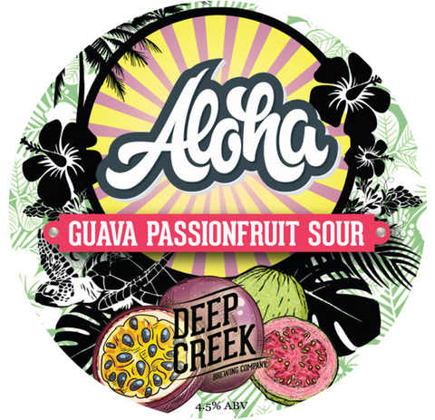 DEEP CREEK Aloha Guava Passionfruit Sour - The Cult Beer Store from Hashigo Zake