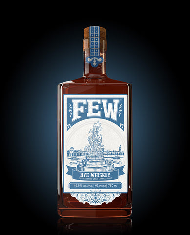 FEW Spirits Rye Whiskey - The Cult Beer Store from Hashigo Zake