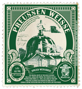 The Monarchy Preussen Weisse - The Cult Beer Store from Hashigo Zake