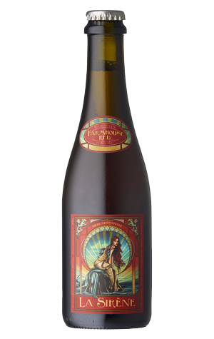 LA SIRENE Farmhouse Red - The Cult Beer Store from Hashigo Zake