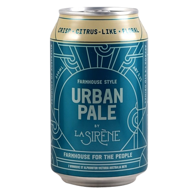LA SIRENE Urban Pale - The Cult Beer Store from Hashigo Zake