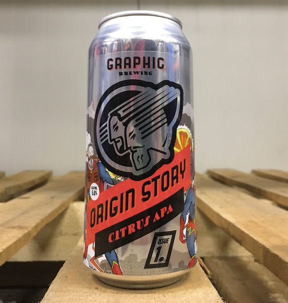 Graphic Brewing Origin Story