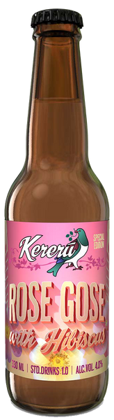 KERERU Rose Gose Ale - The Cult Beer Store from Hashigo Zake