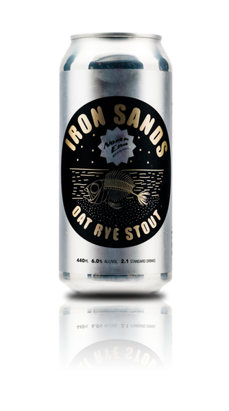North End Iron Sands Oat Rye Stout - The Cult Beer Store from Hashigo Zake