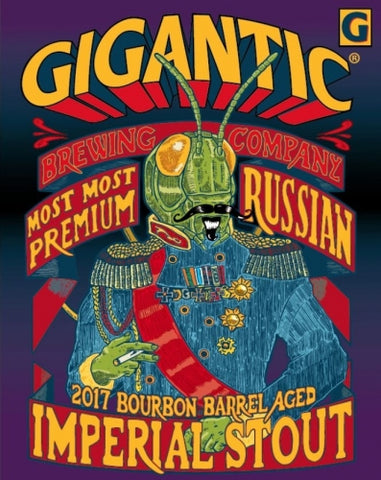 GIGANTIC Most Most Premium Bourbon Barrel-aged Russian Imperial Stout - The Cult Beer Store from Hashigo Zake