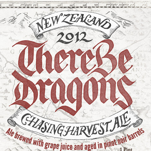There Be Dragons Chasing Harvest Wild Ale (2016)