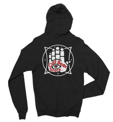 The Cult Beer Store Zip Up Hoodie - The Cult Beer Store from Hashigo Zake