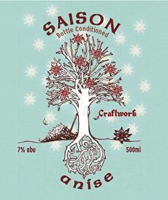 Craftwork Saison Anise 500ml Bottle TAKEAWAY - The Cult Beer Store from Hashigo Zake
