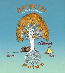 Craftwork Saison Poire - The Cult Beer Store from Hashigo Zake