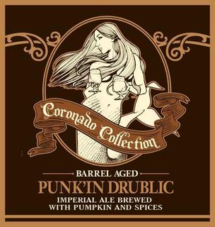 CORONADO Brandy Barrel Aged Punkin' Drublic - The Cult Beer Store from Hashigo Zake