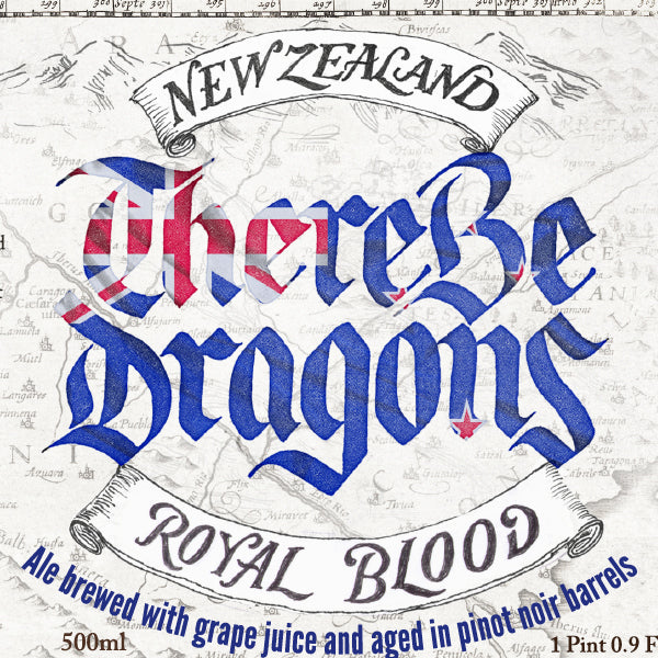 There Be Dragons Royal Blood 500ml TAKEAWAY