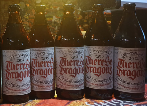 There Be Dragons - Five Vintage Vertical - The Cult Beer Store from Hashigo Zake