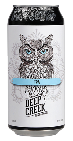 DEEP CREEK Wisdom IPA 440ml Can TAKEAWAY - The Cult Beer Store from Hashigo Zake