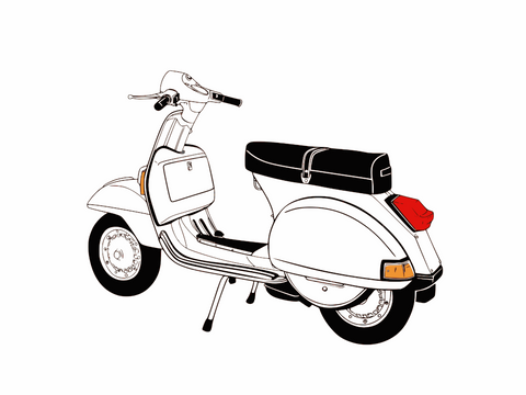 Vintage Scooters & Mopeds