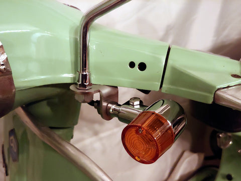 Vespa Front Turn Signal Mounting Bracket