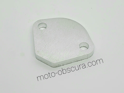 Aluminum Fuel Pump Block Off Plate