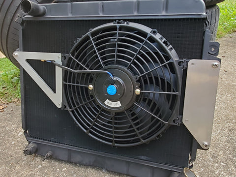 Lightweight Radiator Fan Kit - 1800 Spider