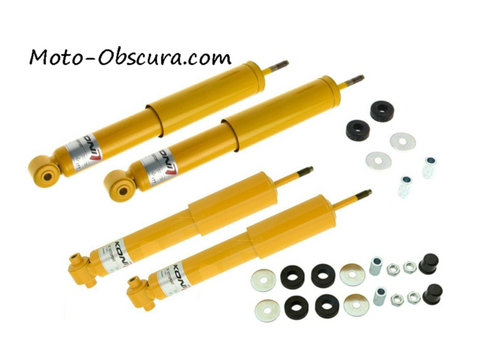 Koni Yellow Performance Shock Absorbers - Set of Four