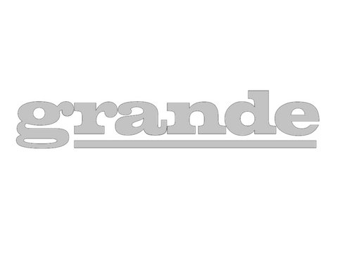 Grande - Reproduction Decal