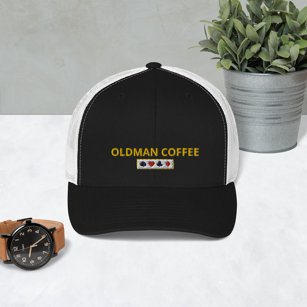 Men's Trucker Cap-------------- FREE SHIPPING IN THE US