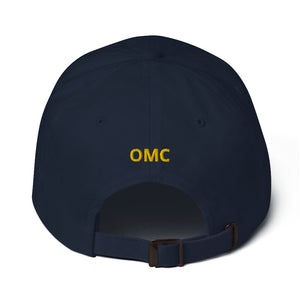 Mens Baseball Cap, OMC on Back - FREE SHIPPING IN THE US