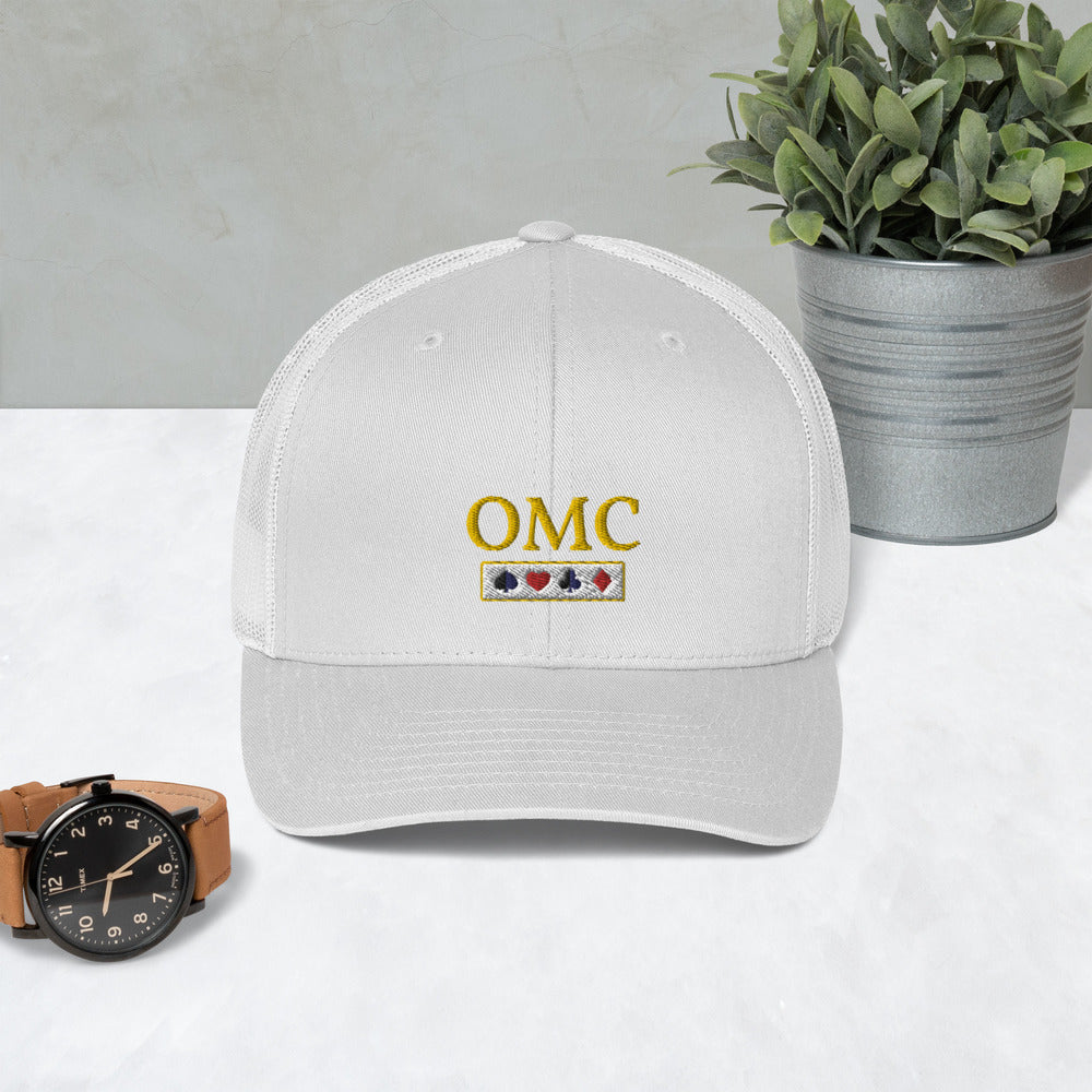 OMC Trucker Cap For Him - FREE SHIPPING IN THE US