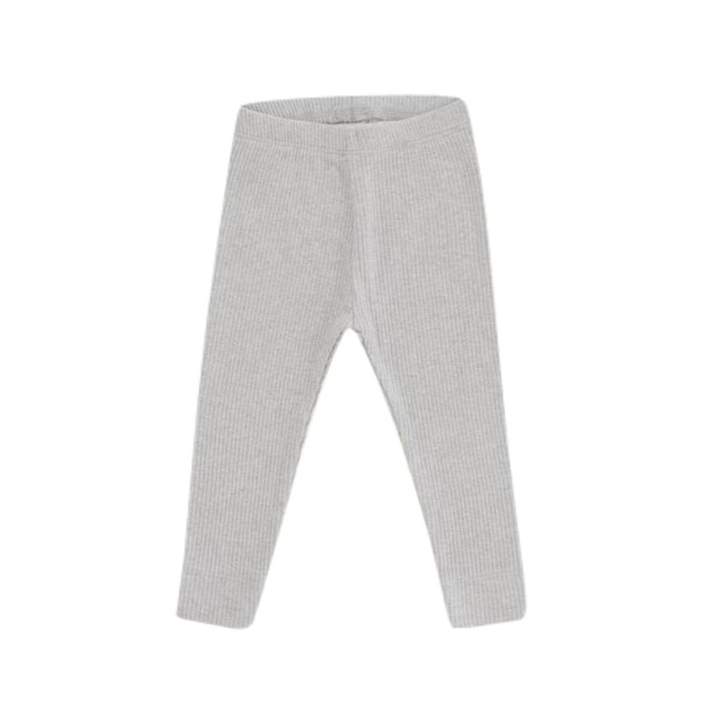 Light Grey Marle Essential Leggings by Jamie Kay - Fox and Roo