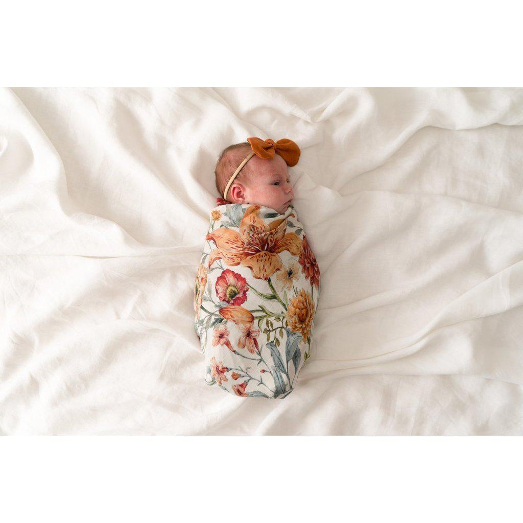 Le Piccadilly Swaddle Blanket by Pop Ya Tot - Fox and Roo