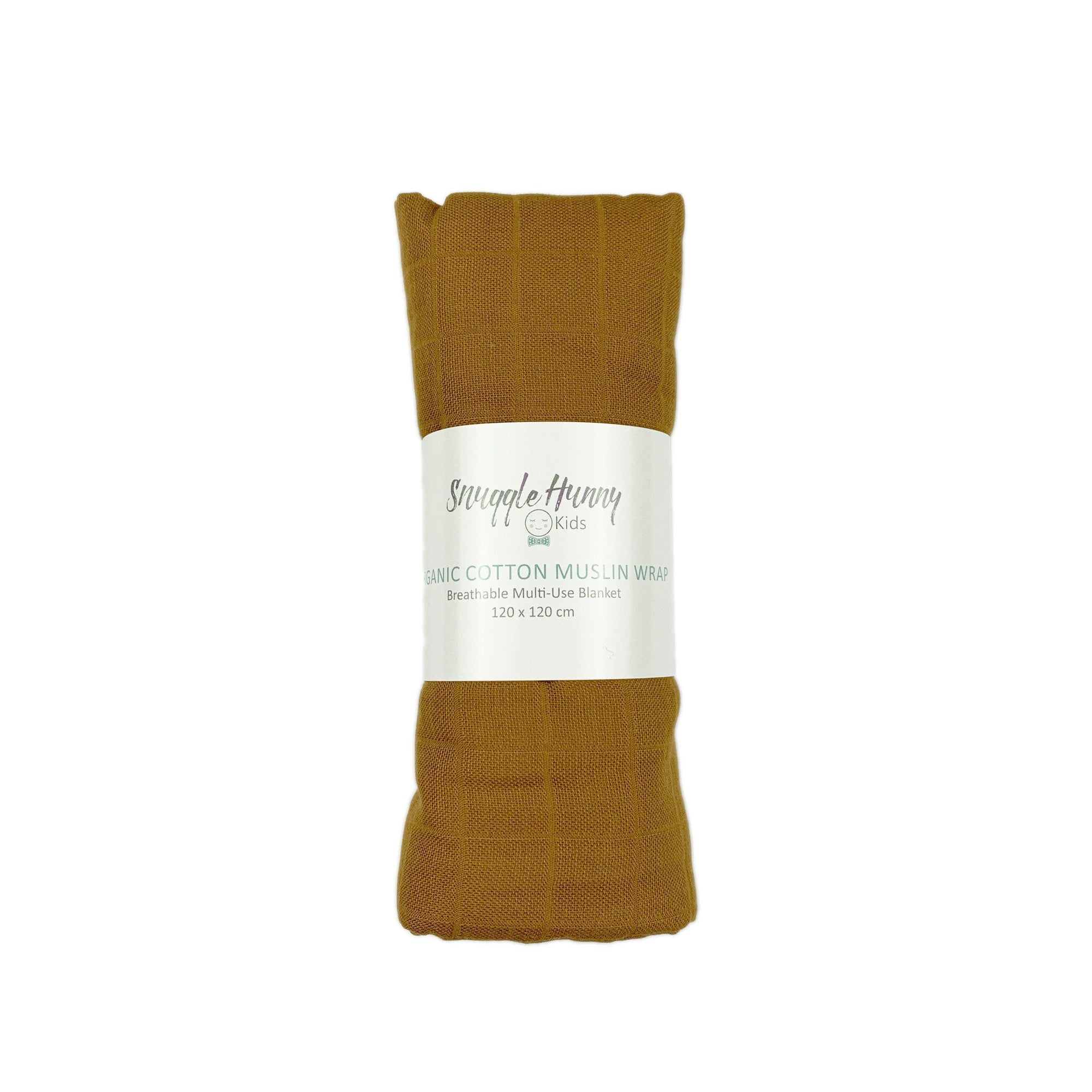 Bronze Organic Muslin Wrap by Snuggle Hunny Kids - Fox and Roo