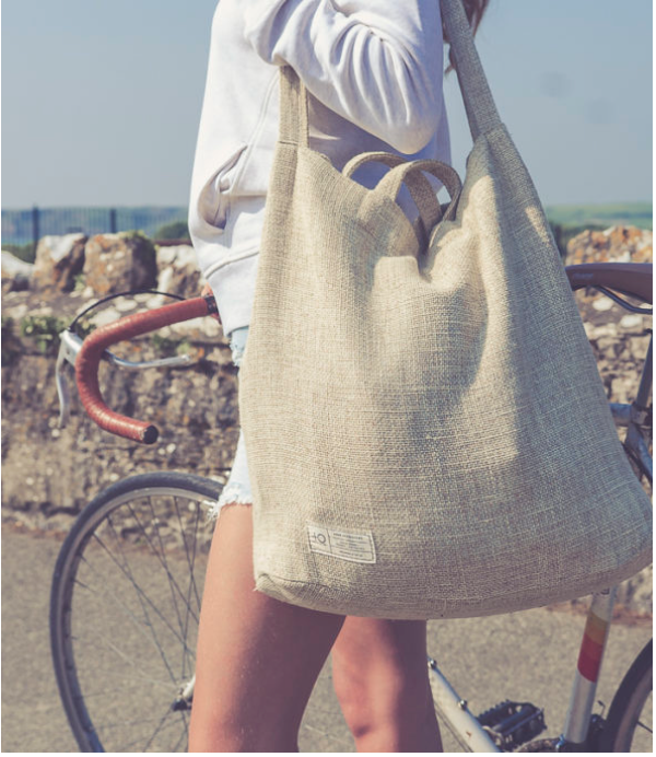 Positive Outlook: Hemp everyday bag!