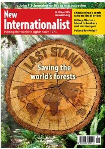 New Internationalist Magazine 1