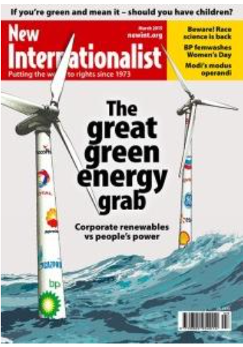 New Internationalist Magazine 4