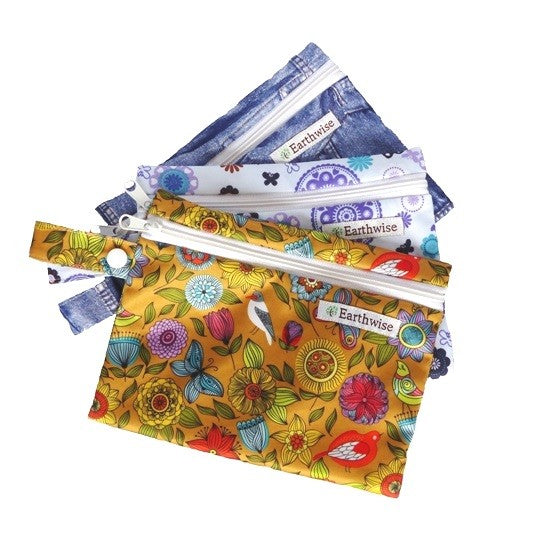 Reusable Sanitary Pad Pouches - Zero Waste Shop, Sanitary Pad Pouches - Eco + Plant-Based Lifestyle, Generation Zer0 - Generation Zero Uk, G.0 - G.0