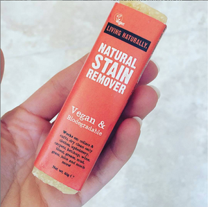 Natural Stain Remover Bar | Living Naturally (60g)