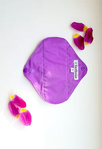 Reusable Sanitary Pads 'Blackcurrant'  (S/M/L) - Zero Waste Shop, Reusable Sanitary Pad - Eco + Plant-Based Lifestyle, G.0 - Generation Zero Uk, G.0 - G.0
