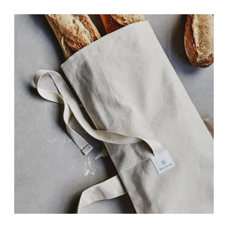 Reusable Bread Bag | Dans le Sac | Cotton Canvas Bread Bag