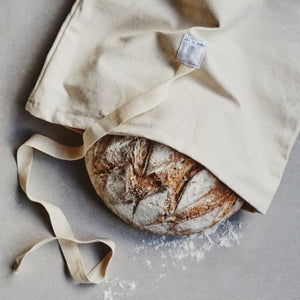 100% Natural Bread Bag by 'Dans Le Sac' - Zero Waste Shop, Bread Bag - Eco + Plant-Based Lifestyle, G.0 - Generation Zero Uk, G.0 - G.0