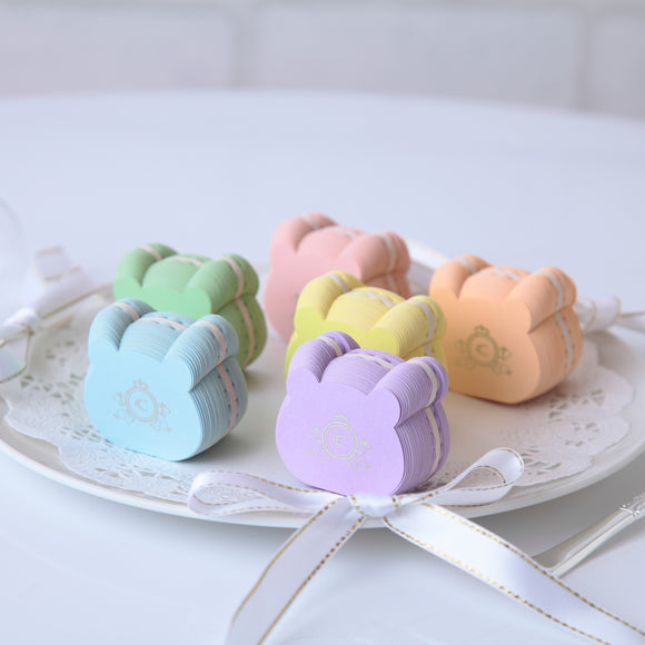 Bear Macaron Sticky note クマ マカロン付箋