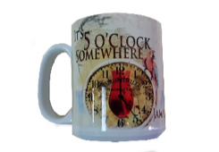 5 O'Clock Somewhere Ceramic Coffee Mug