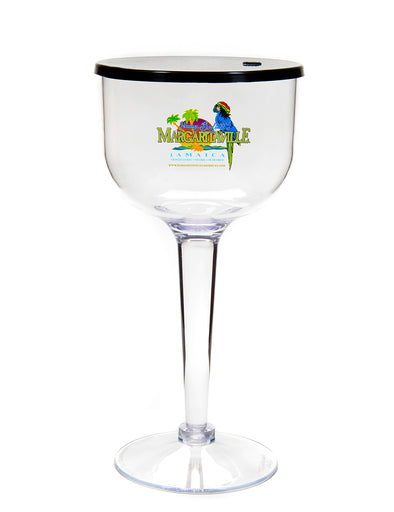 Logo Margarita 32oz with Lid